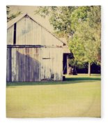Ohio Shed Fleece Blanket