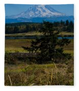 Ohop Valley Rainier Fleece Blanket