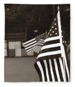 Ojai Memorial Day  Fleece Blanket