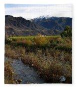 Ojai Valley Fleece Blanket