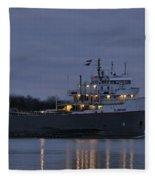 Ojibway Fleece Blanket