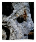 Old Ancient Olive Tree In Spain Fleece Blanket