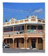 Old Aussie Pub Fleece Blanket