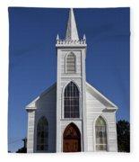 Old Bodega Church Fleece Blanket