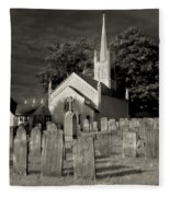 Old Church Yard Fleece Blanket