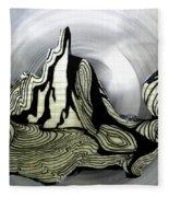 Old Drawing Called Serenity  Fleece Blanket