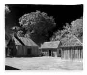 Old Fort Fleece Blanket
