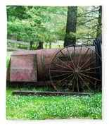 Old Hardee Sprayer Fleece Blanket