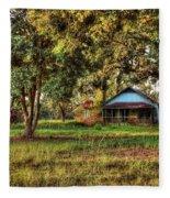 Old House On 98 Fleece Blanket