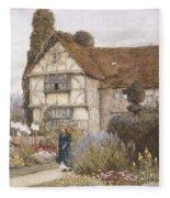 Old Manor House Fleece Blanket