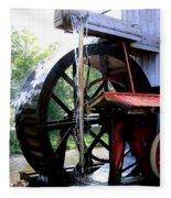 An Old Mill Fleece Blanket