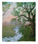 Old Mill Fleece Blanket