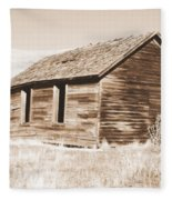 Old Ranch Hand Cabin Ll Fleece Blanket