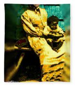 Old South Madonna Fleece Blanket