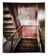 Old Stairwell Fleece Blanket