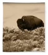 Old Timer Fleece Blanket