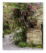 Old Water Pump, Ram House Garden, Co Fleece Blanket