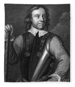 Oliver Cromwell (1599-1658) Fleece Blanket