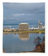 Olympia Lake Fleece Blanket