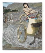 Olympic Games, Antiquity Fleece Blanket