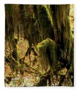 Olympic Moss Fleece Blanket