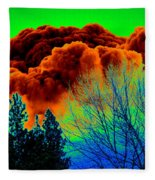 Ominous Cloudfront Fleece Blanket
