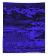 Ominous Fleece Blanket