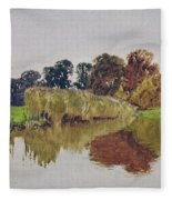 On The Arun Stoke Sussex  Fleece Blanket