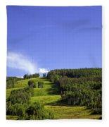 On Vail Mountain II Fleece Blanket
