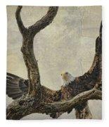 On Wings High Fleece Blanket