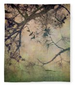 One Autumn Day Fleece Blanket