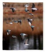 One Last Swallow Fleece Blanket