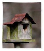 One Room Shack - Bird House Fleece Blanket