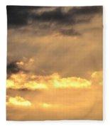 One September Dawn Fleece Blanket