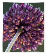 Onion Flower Fleece Blanket