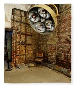Operating Room - Eastern State Penitentiary Fleece Blanket
