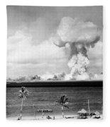 Operation Crossroads, Able Detonation Fleece Blanket