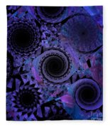 Optical Illusion Fleece Blanket