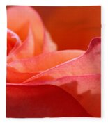 Orange Sensation Fleece Blanket