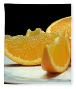 Orange Slices Fleece Blanket