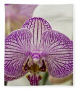 Orchid Originality Fleece Blanket