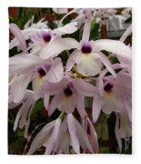Orchids Beauty Fleece Blanket