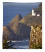 Oregon, United States Of America Heceta Fleece Blanket