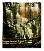 Oregon Wilds Fleece Blanket