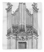 Organ, 1760 Fleece Blanket