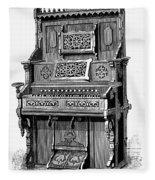 Organ, 19th Century Fleece Blanket
