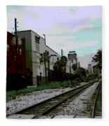 Orlando Tracks Fleece Blanket