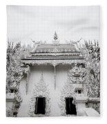 Ornate Architecture Fleece Blanket