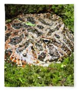 Ornate Horned Frog Fleece Blanket