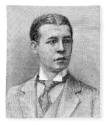 O.s. Campbell, 1891 Fleece Blanket
